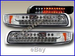 00 01 02 03 04 Tahoe/suburban Chrome Led Bumper Lights