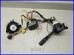 01 02 Yukon Silverado Steering Wheel Clockspring, Wiper Combo Switch, Harness