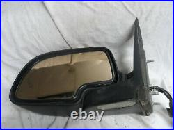 03 04 05 06 Cadillac Escalade Driver Side Mirror Left Lh Silver With Turn Signal