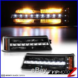 03-06 Chevy Silverado 2500HD Rear brake lights turn signal dark smoke headlights