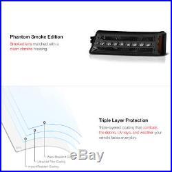 03-06 Chevy Silverado Smoke Tinted LED Bumper Turn Signal DRL Parking Lamp Light