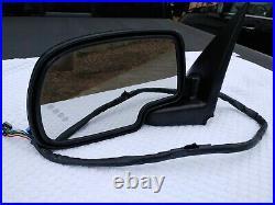 03-06 Sierra Escalade Tahoe POWER HEAT AUTO DIM Mirror Left DRIVER w Turn OEM