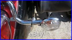 03-09 Yamaha V-Star XVS-1100 Classic Silverado Rear Turn Signal Indicators Stay