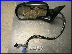 04 07 Chevrolet Silverado GMC Sierra power folding mirror w turn signal left L