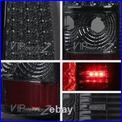 05-06 Sierra 03-06 Silverado SS New Smoke LED SMD Tail Light Brake Lamp Assembly