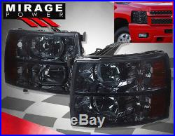 07-13 Chevy Silverado Truck 2500hd 350hd Replacement Assembly Head Lights Lamps