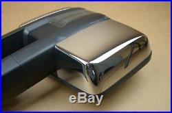 15 16 17 18 Chevrolet Silverado GMC Sierra Right Passenger Tow Towing Mirror OEM