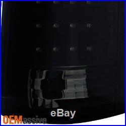 1988-1998 Chevy C/K Silverado Suburban Tahoe Sierra LED Black Smoked Tail Lights