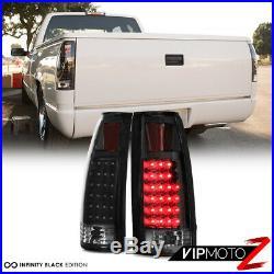 1994-1998 Chevy Silverado Tahoe Suburban Smoke Headlight LED Tail Lights COMBO