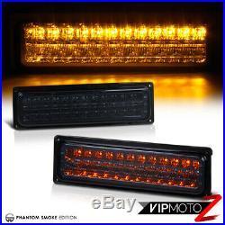 1994-2000 C2500 C3500 K2500 K3500 Smoke Rear Tail Lights Headlights Bumper Lamps