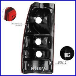 1999-2006 GMC Sierra 1500 2500 Rear Brake Tail Lights Lamps Assembly PAIR LH+RH