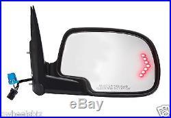 2003-2006 Silverado / Tahoe Power Heated Turn Signal View Side Mirror (pair)