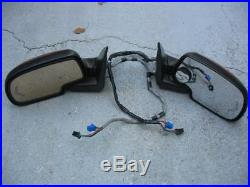 2003-2006 Silverado Tahoe Sierra DL3 Turn Signal Power Fold Side Mirror Set