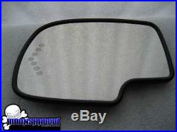 2003 Gm Chevy Suburban Ls Lt Oem Left Drivers Side Turn Signal Heated Mirror