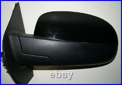 2007 2008 Gmc Sierra Left Driver Side Power Fold Turn Signal Door Mirror Oem