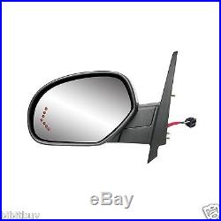 2007-2013 Chevy/ Gmc Heated Power Turn Signal Side Mirror Driver/ Left Side