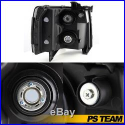 2007-2013 Chevy Silverado Replacement Smoked Headlights Headlamps Set Left+Right
