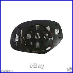 2007-2013 HEATED LED TURN SIGNAL MIRROR SIDE GLASS withBACKING DRIVER/ LEFT SIDE