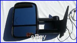 2007-2014 Chevy Silverado Gmc Sierra Left Driver Tow Mirror Power Turn Signal