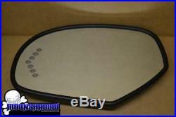 2011 11 Cadillac Escalade Oem Drivers Side Heated Led Turn Signal Mirror Glass
