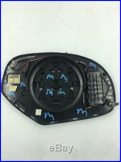2013 Chevrolet Avalanche Driver Side Turn Signal Mirror OEM Heated Blind Sensor