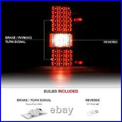 2014-2018 Silverado 1500 2015 2500HD 3500HD Red ULTRA BRIGHT LED Tail Lights