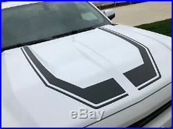 2015-2018 & 2019 LD Chevrolet Silverado Custom Hood Decal Set Choice of Colors