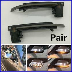 2X Dynamic Blinker Mirror Light Side LED Turn Signal Indicator A8 D3 8K