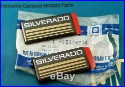 2 Nos 88 98 Chevy Silverado Roof Emblem Set Truck 1500 Pickup Ck Pick Up Gm Trim