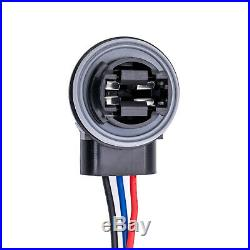 2x 3157 3357 4157 Brake Turn Signal Light Socket Harness Wires For LED or Stock
