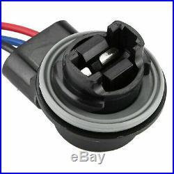 3157 4157 Female Wiring Harness Socket Adapter For Turn Signal Tail Brake Light
