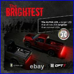 48/60 TRIPLE LED Tailgate Bar Sequential Turn Signal Reverse Back Up Brake Light