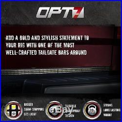 48 Tailgate 788 LED Bar Sequential Turn Signal Amber Pickup Rear Brake Light