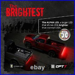 4 FT TRIPLE LED Tailgate Light Bar Sequential Turn Signal Red Brake Reverse