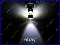 4-SMD 7440 7443 White XP-E Projector Lens LED Daytime Running Light DRL Bulbs