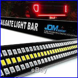 60 LED Strip Tailgate Bar Brake Reverse Turn Signal Tail Light for Pickup Truck