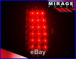 99-02 Chevy Silverado Full Led Turn Signal Brake Tail Lights + 3Rd Roof Lamp Kit