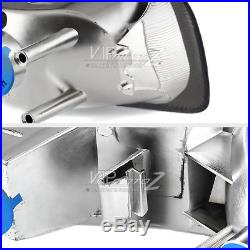99-02 Chevy Silverado Titanium Smoke Headlight+Bumper Signal Lamp Assembly LH+RH