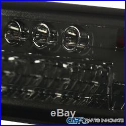 99-02 Silverado 00-06 Tahoe Smoke LED Projector Headlights+LED Bumper Lamps