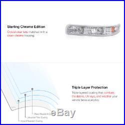99-02 Silverado 1500 2500 Projector Headlight CCFL Halo Ring Wiring Switch Fog
