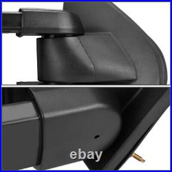 CHROME MANUAL EXTENDED TOWING MIRROR+TURN SIGNAL WithO HEATED FOR 03-06 CHEVY/GMC