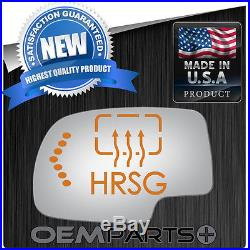 Cadillac Chevrolet Flat Ec Mirror Glass Heat Grid Turn Signal & Motor Mount Lh