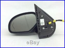 Chevrolet Silverado GMC Sierra Driver Side View DL3 Power Folding Mirror black