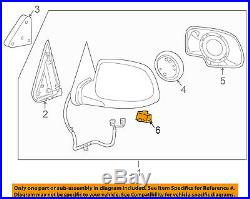 Chevy Avalanche Outside Power Mirror Light 2003-2006 New Oem Gm 88980307