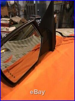 Chevy Silverado 2014-18 Side Mirrors Set LTZ Heated Turn Signal Withwiring OEM