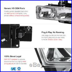 Chevy Tahoe Suburban CK PickUp LED Bumper Signal Headlight LED Rear Tail Lights