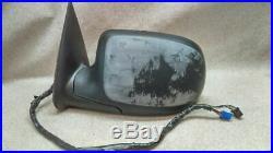 Driver Left Side View Mirror Power Turn Signal Fits 04-07 GMC SIERRA PICKUP