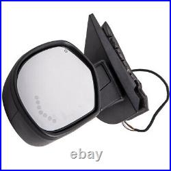 Driver Side Mirror Replacement for Chevy Tahoe Suburban GMC Yukon 07-13 Power