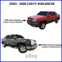 Fits 03-06 Silverado Avalanche Smoked Headlights +Bumper Signal+ Slim 8000K HID