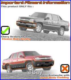 Fits 03-06 Silverado Black Headlights + Bumper Signal + Slim Ballast 6K HID Kit